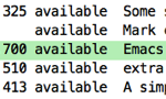 Markdown環境整備(Emacs markdown-mode & Marked 2)